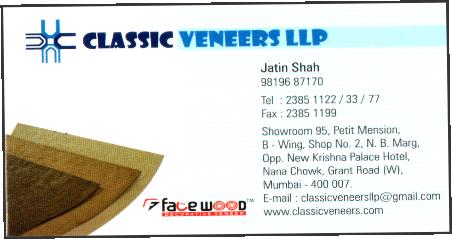 CLASSIC VENEERS LLP