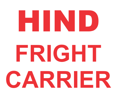 HIND FRIGHT CARRIER