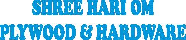 SHREE HARI OM PLYWOOD & HARDWARE
